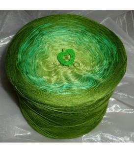 April Bobbel 2016 - 4 ply gradient yarn