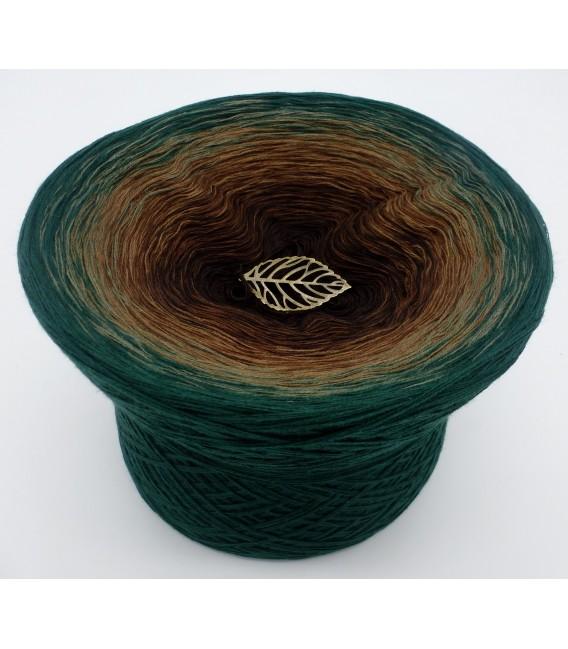 gradient yarn 4ply Secrets of Nature - Fir green outside