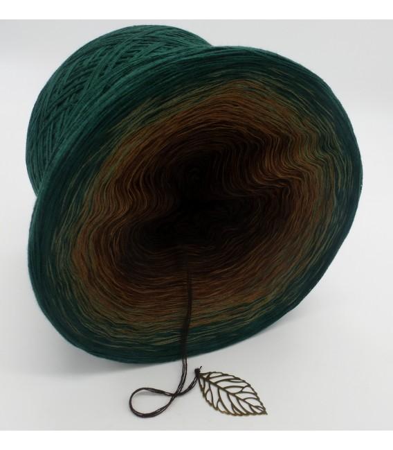 gradient yarn 4ply Secrets of Nature - Fir green outside 3