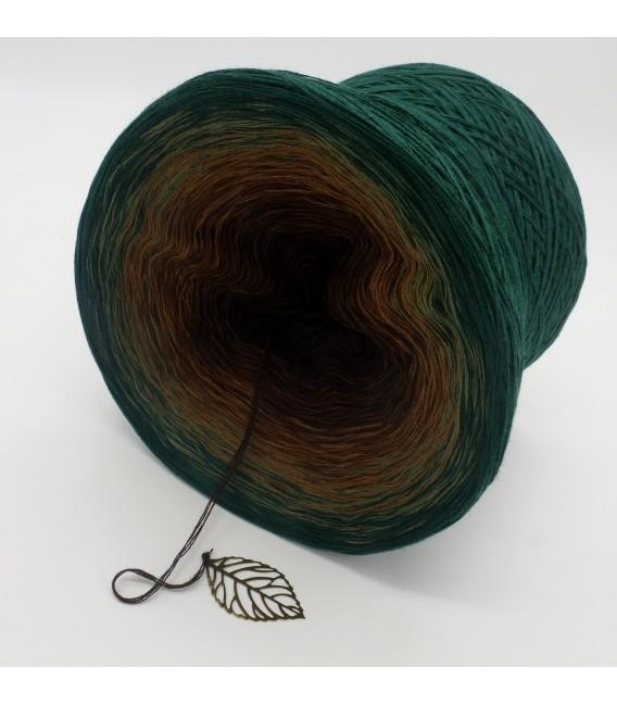 gradient yarn 4ply Secrets of Nature - Fir green outside 4