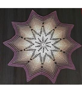 Miracle - crochet Pattern - star blanket - german