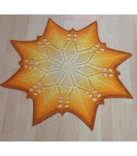 Astra - crochet Pattern - star blanket - german