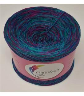 Moon Shadow 02 - 4 ply mottled yarn