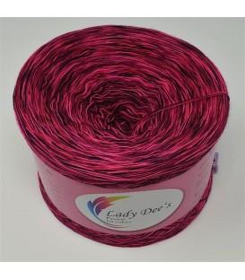 Moon Shadow 03 - 4 ply mottled yarn