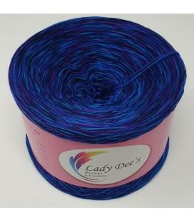 Moon Shadow 04 - 4 ply mottled yarn