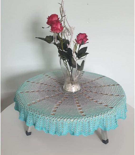 Sternenwind - crochet Pattern - star blanket - german