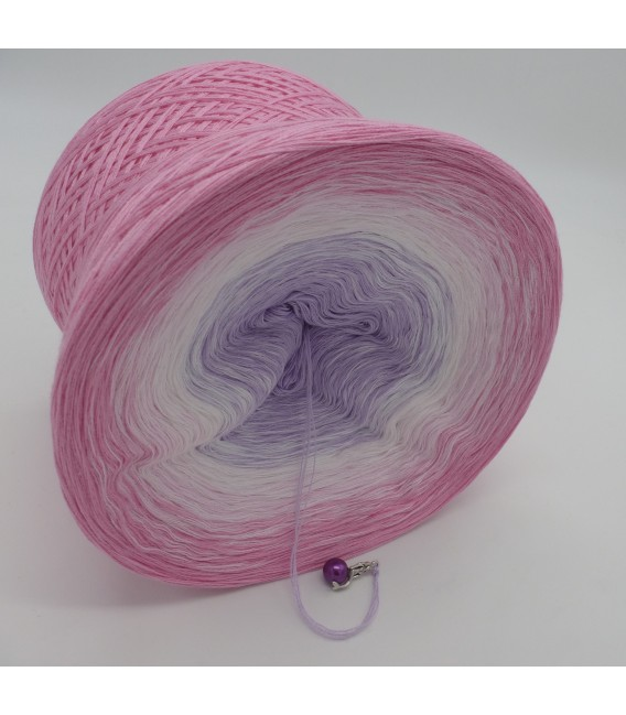 Farbverlaufsgarn 4-fädig Mädchenträume - Pink outside 3