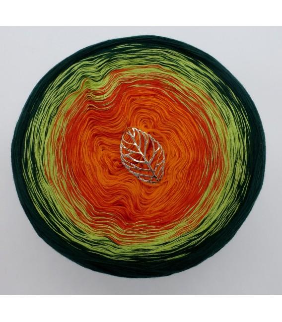 4 нитевидные градиента пряжи - Goldener Herbst - оранжевый снаружи