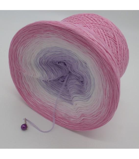 Farbverlaufsgarn 4-fädig Mädchenträume - Pink outside 4