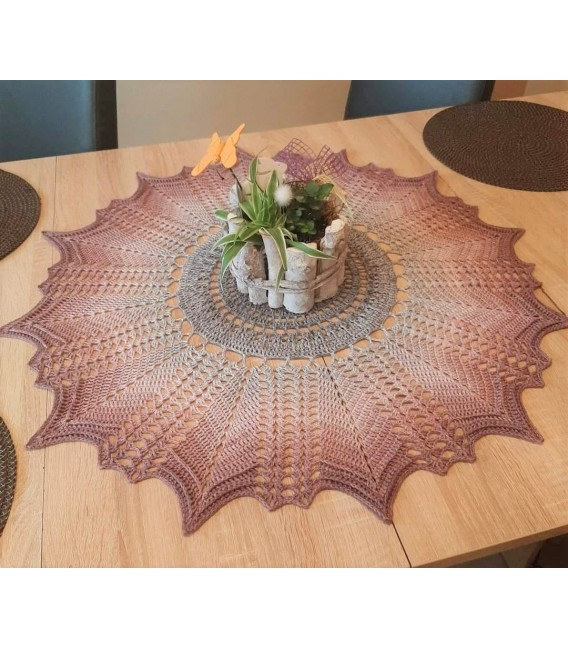 Venus - crochet Pattern - star blanket - german