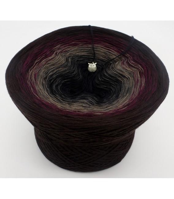 Dunkle Schatten (Dark shadows) - 4 ply gradient yarn - image 2