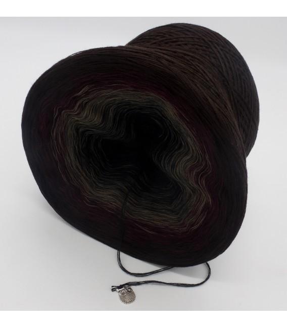 Dunkle Schatten (Dark shadows) - 4 ply gradient yarn - image 5
