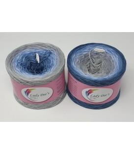 Herbst Blues - 4 ply gradient yarn