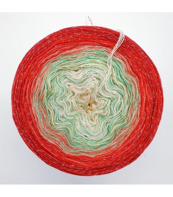 Merry Christmas 150g in a gift box - 4 ply gradient yarn
