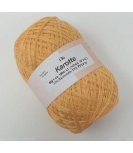 Lace yarn - carrot