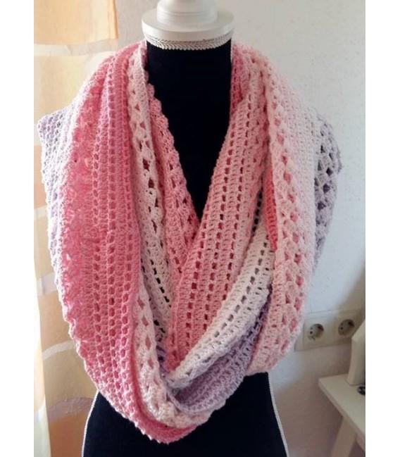 Farbverlaufsgarn 4-fädig Mädchenträume - Pink outside 5