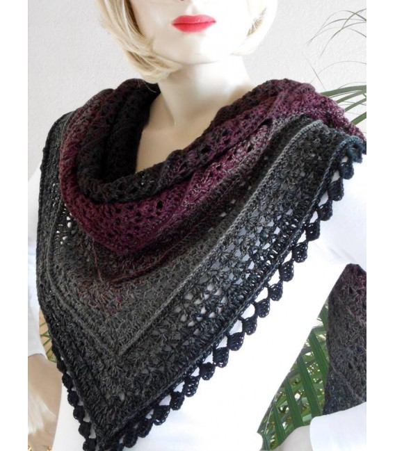 Dunkle Schatten (Dark shadows) - 4 ply gradient yarn - image 10
