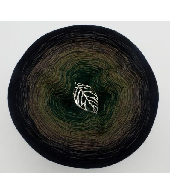 gradient yarn 4ply Tannenzauber - Black outside 2