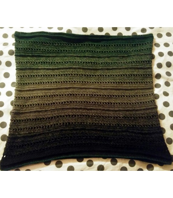 gradient yarn 4ply Tannenzauber - Black outside 5