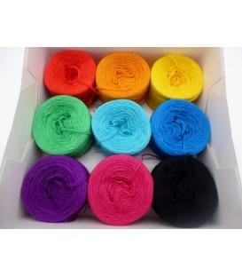 Un paquet Bobbelinchen Lady Dee's Farben des Lebens (Couleurs de vie) (3 fils - 900m) - Multicolor - Photo 1
