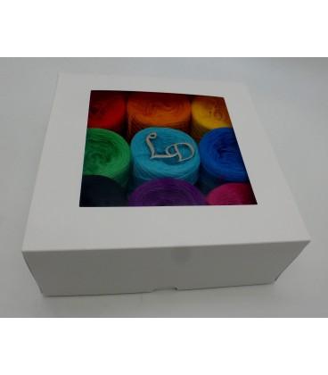 Un paquet Bobbelinchen Lady Dee's Farben des Lebens (Couleurs de vie) (3 fils - 900m) - Multicolor - Photo 4