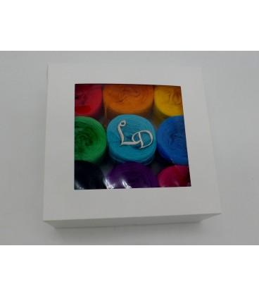 Un paquet Bobbelinchen Lady Dee's Farben des Lebens (Couleurs de vie) (3 fils - 900m) - Multicolor - Photo 5