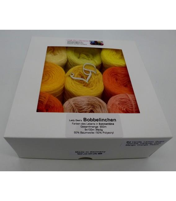 Un paquet Bobbelinchen Lady Dee's Farben des Lebens (Couleurs de vie) (4 fils - 900m) - Couleurs du solei - Photo 2