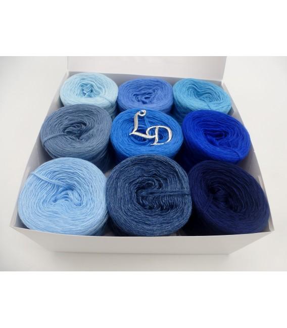 Farben des Lebens (4нитевидные-900м) - синий цвет - Фото 5
