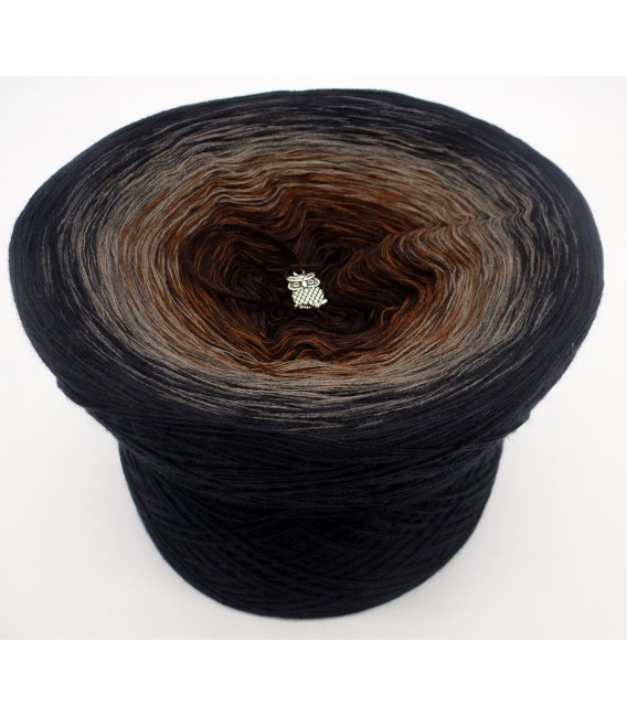 Midnight Blues - 4 ply gradient yarn - image 2
