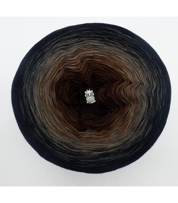 Midnight Blues - 4 ply gradient yarn - image 3