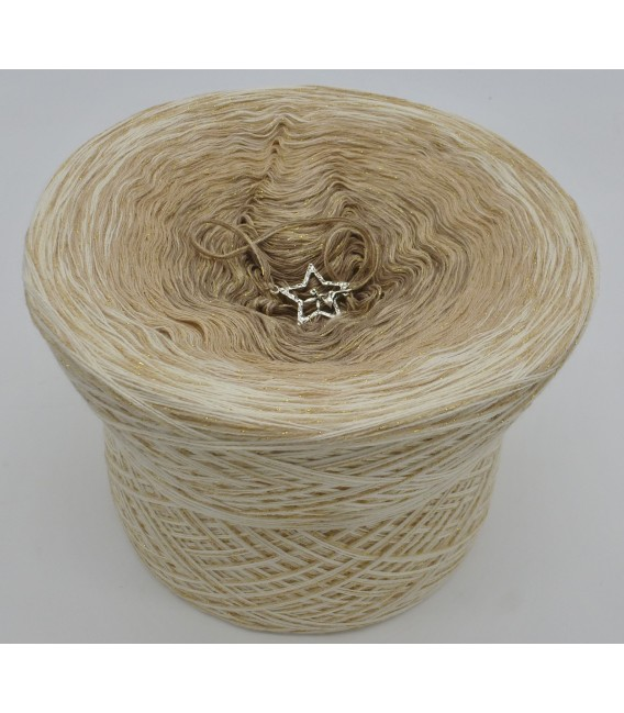 Zimtsterne (Etoiles de cannelle) - 4 fils de gradient filamenteux - Photo 2