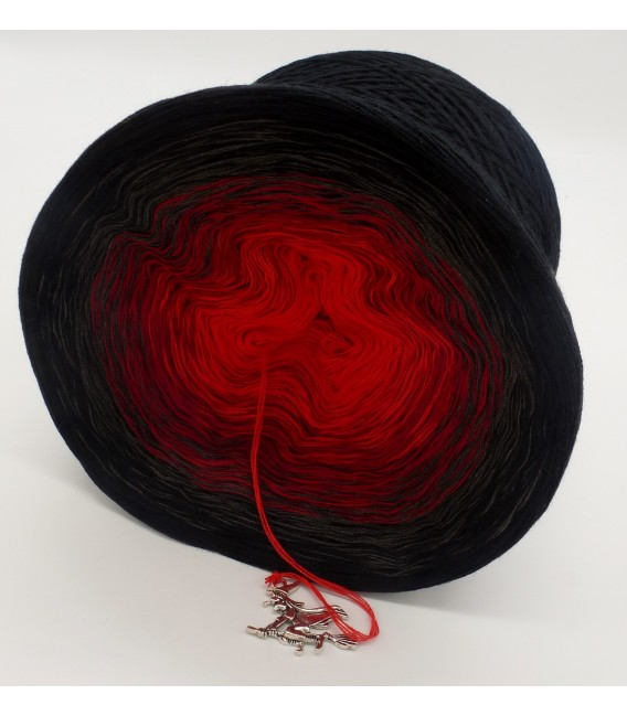 gradient yarn 4ply Hexentanz - Black outside 4
