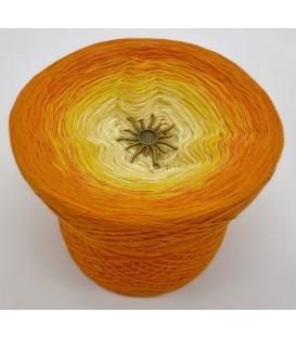 gradient yarn 4ply Sonne auf der Haut - orange outside