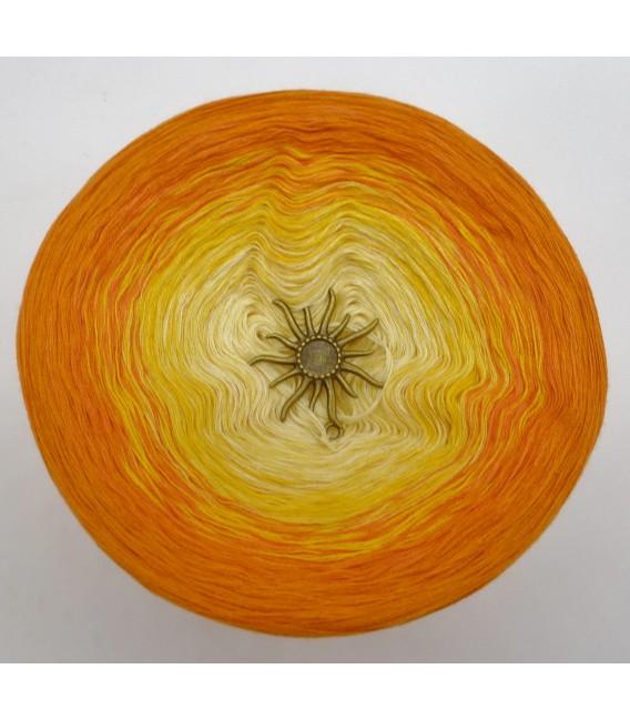 Sonne auf der Haut - Farbverlaufsgarn 4-fädig - Bild 3