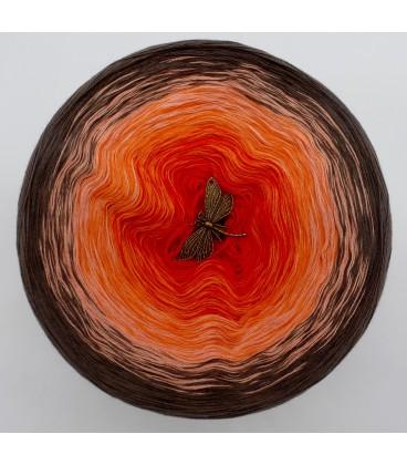 Feuerkelch (Кубок огня) - 4 нитевидные градиента пряжи - Фото 3