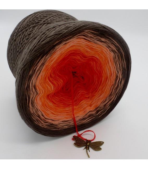 Feuerkelch (Кубок огня) - 4 нитевидные градиента пряжи - Фото 4