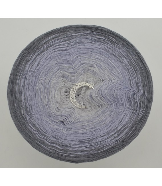 Silbermond (серебряная луна) - 3 нитевидные градиента пряжи - Фото 3