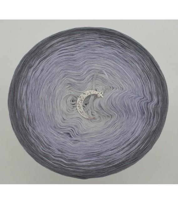 Silbermond - Farbverlaufsgarn 3-fädig - Bild 3