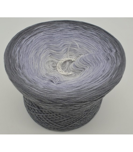 Silbermond (Silver Moon) - 4 ply gradient yarn - image 2