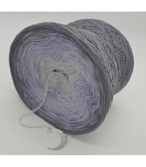 Silbermond (Silver Moon) - 4 ply gradient yarn - image 5