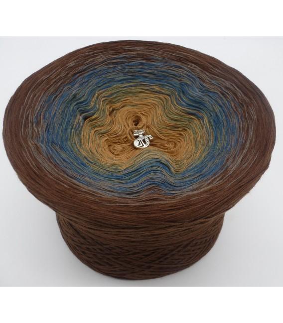 Schatz des Pharao (Treasure of Pharaoh) - 4 ply gradient yarn - image 2