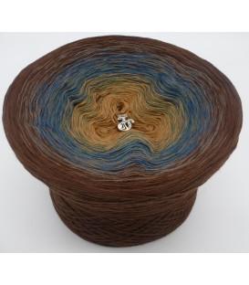 gradient yarn 4ply Schatz des Pharao - Brown outside