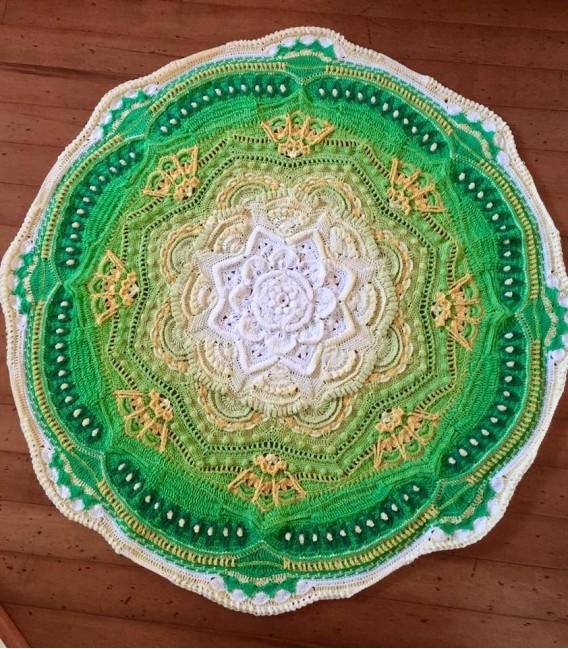 Lemongras - Farbverlaufsgarn 4-fädig - Bild 11