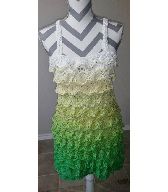 Lemongras (Lemongrass) - 4 ply gradient yarn - image 13