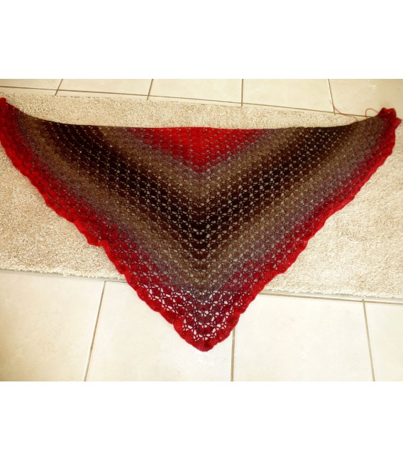 gradient yarn 4ply Flamenco - Chocolate outside 7