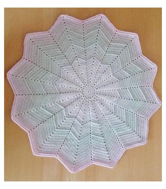 gradient yarn 3ply Zarte Lilienknospe - 4 Bobbelinis in the set