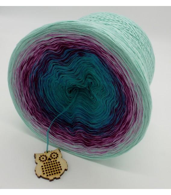 gradient yarn 4ply Kletterrosen - pistachio outside 4