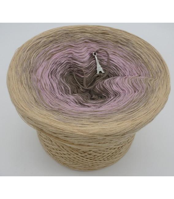 gradient yarn 4ply Rauchquarz - Beige outside