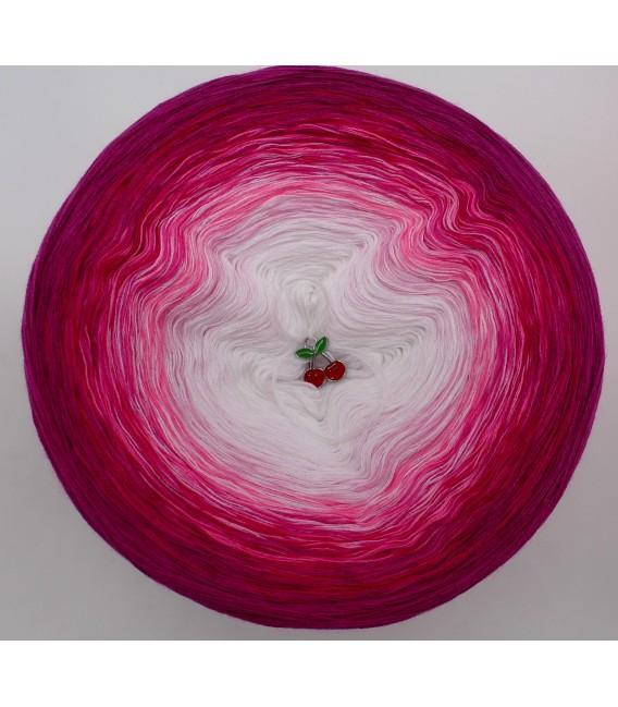 Heiße Kirschen - Farbverlaufsgarn 4-fädig - Bild 3