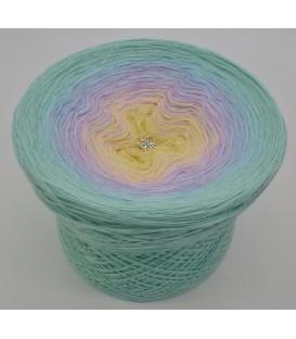 gradient yarn 4ply Regenbogen - pistachio outside